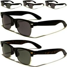 NEW SUNGLASSES POLARIZED BLACK DESIGNER MENS LADIES WOMENS DRIVING RETRO VINTAGE