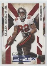 2010 Panini Epix Platinum #94 Kellen Winslow Jr Tampa Bay Buccaneers Jr. Card