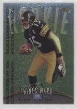 1998 Topps Finest #148 Hines Ward Pittsburgh Steelers RC Rookie Football Card