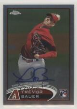 2012 Topps Chrome Rookie Autograph #TB Trevor Bauer Arizona Diamondbacks Auto