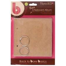 Papermania Blank Chipboard Albums -  Square, Rectangle, Cupcake etc Scrapbook