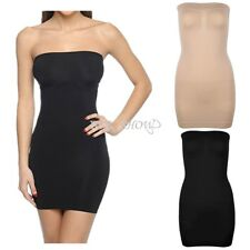 Strapless Body Shaper Slimming Tummy Control Shapewear Seamless Women's Dress