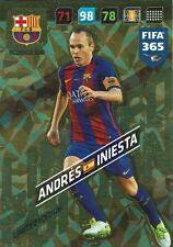 Panini FIFA 365 Adrenalyn XL 2018 Limited Edition Andres Iniesta FC Barcelona