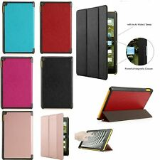 Magnetic Slim Smart Leather Stand Case Cover For Amazon Kindle New Fire 7/HD 8