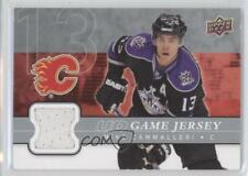 2008-09 Upper Deck UD Game Series 1 Jersey #GJ-MC Mike Cammalleri Calgary Flames