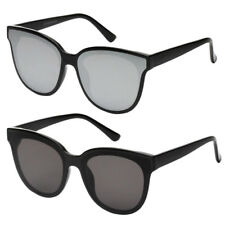 Female Unisex Fashion Vintage Clear Len Square Retro Mens Travel Sunglasses