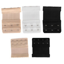 Ladies Bra Extender Extension Strapless Underwear Strap 3, 4 Hooks (9/6pcs)