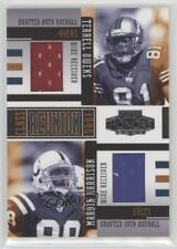2005 Playoff Honors #CR-2 Terrell Owens Marvin Harrison San Francisco 49ers Card