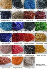 Czech Glass Seed Bead Hanks YOU CHOOSE COLOR Quantity equal 3 hanks