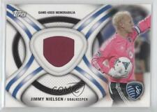 2013 Topps MLS Kit Relics #KIT-JN Jimmy Nielsen Sporting Kansas City Soccer Card