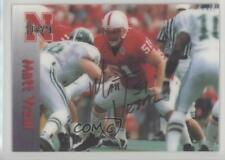 1996 Summit Nebraska Cornhuskers #51 Matt Vrzal Rookie Football Card