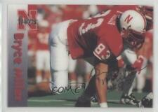 1996 Summit Nebraska Cornhuskers #83 Bryce Miller Rookie Football Card