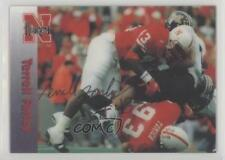1996 Summit Nebraska Cornhuskers #43 Terrell Farley Rookie Football Card