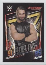2015 Topps WWE Slam Attax Then Now Forever #114 Seth Rollins Wrestling Card