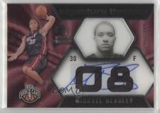 2008-09 SP Rookie Threads #96 Michael Beasley Miami Heat RC Basketball Card