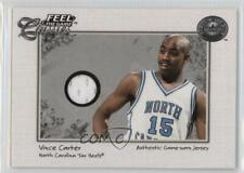 2001 Fleer Greats of the Game #VICA.1 Vince Carter (Single Swatch White Jersey)