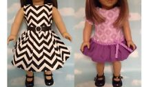 """Dress handmade to fit 18"""" American Girl Doll 18 inch Doll Clothes 12ab"""