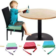 Kid Baby Dining Chair Highchair Seat Harness Bag Cushion Pad Booster Portable