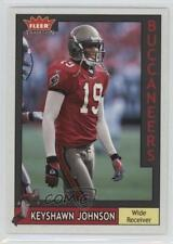 2003 Fleer Tradition #119 Keyshawn Johnson Tampa Bay Buccaneers Football Card