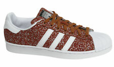 Adidas Originals Superstar Lace Up Fox Red Synthetic Mens Trainers S85981 M8
