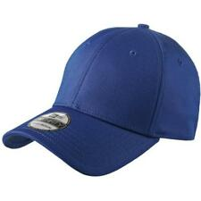 New Era 39THIRTY Structured Stretch Cotton Hat Royal Blue Cap NE1000 BLANK