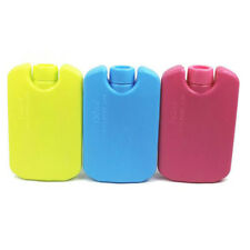 Lunch Reusable Picnic Camping Travel Cooler Bag Box Freezer Ice Blocks