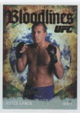 2009 Topps UFC Bloodlines #BL-8 Royce Gracie MMA Card