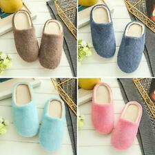 Unisex Winter Warm Soft Home Non-Silp Candy Color Slippers Indoor Shoes Cheap