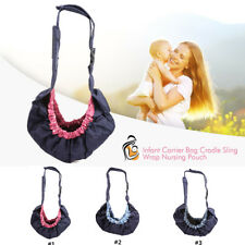 Infant Newborn Baby Windproof Carrier Bag Cradle Sling Wrap Nursing Pouch New