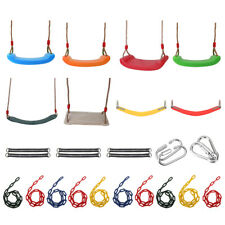 Kids Adult Unisex Durable Swing Seat Set Accessories Playground Outdoor Play Fun