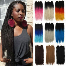 Natural Senegalese Twist Crochet Braids Dreadlock Synthetic Hair Extensions P37