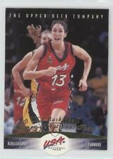 1996 Upper Deck USA Basketball Deluxe Gold Edition #65 Rebecca Lobo Rookie Card