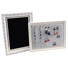 Luxury Piture Frame Wall Hanging Room Store Jewelry Display Earrings Stud Tray