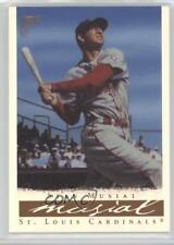 2003 Topps Gallery Hall of Fame Edition Artist Proof 52.1 Stan Musial (day) Card