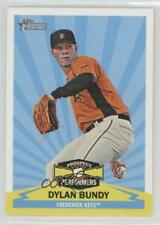 2012 Topps Heritage Minor League Edition Prospect Performers #PPDB Dylan Bundy