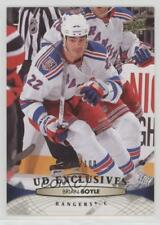 2011-12 Upper Deck UD Exclusives #79 Brian Boyle New York Rangers Hockey Card