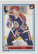 1990 7th Inning Sketch WHL #253 Dave McMillen Victoria Cougars (WHL) Hockey Card