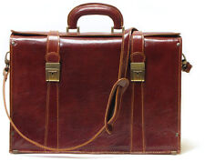 Floto Imports Luggage Trastevere Laptop Briefcase, Italian Calfskin Leather