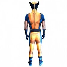 S-2XL Adult Wolverine X-Men Marvel Comics Hero Morphsuit Digital Zappar Costume