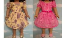 """Dress handmade to fit 18"""" American Girl Doll 18 inch Doll Clothes 16ab"""
