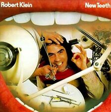 New Teeth by Robert Klein CD Comedy USED VG FREE SHIPPING 1975 Classic