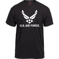 Black - Official US Air Force Wings Logo T Shirt