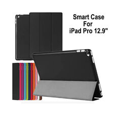 "Ultra Slim Magnetic Folio Leather Smart Cover Case For Apple iPad Pro 12.9"" New"
