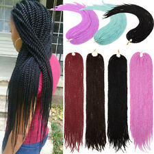 "24""20Roots 110g Soft Synthetic Hair Extensions Crochet Braids Twist Hair US sale"
