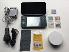 Nintendo 2DS XL plus 5 Games, Car And Wall Charger, NFC Reader