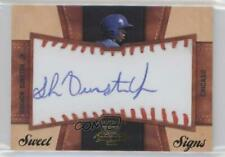 2011 Playoff Contenders Sweet Signs #32 Shawon Dunston Jr Chicago Cubs Jr. Auto