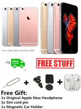 Unlocked Apple iPhone 6S 16/64/128GB Mobile Phone Rose Gold in Sealed Box S+