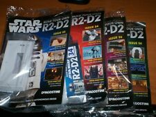 DeAgostini Star Wars Build Your Own R2-D2 Issues 33,34,35 & 36 (NEW & SEALED)