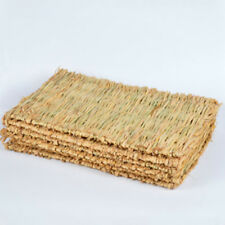 Woven Grass Mat for Rabbits Small Animals Natural Handmade Seagrass Mat Gallant
