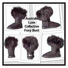 Australia Luxe Collective Black Suede Foxy Boot Size 8 MSRP: $310